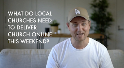 Tips for getting online church up and running