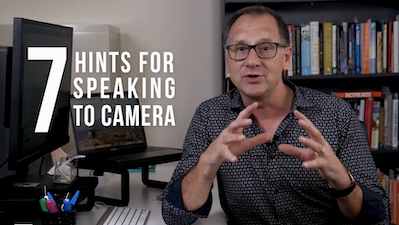 Help with connecting through a camera lens